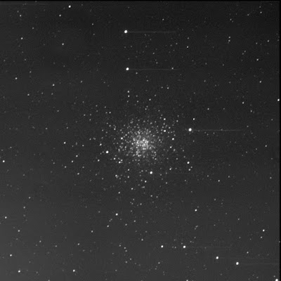 globular cluster Messier 107 in luminance