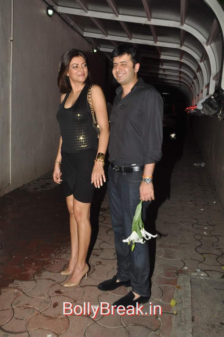 Sushmita Sen with alleged beau Ritik Bhasin, Celebs  at Karim Morani's Birthday Bash