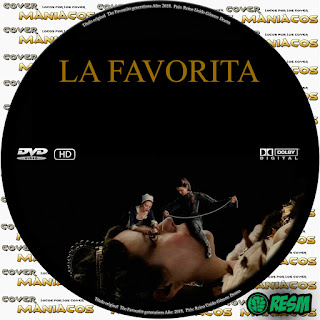 GALLETA LA FAVORITA - THE FAVOURITE - 2018 [COVER DVD]