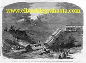 1922 - en Onteniente (Valencia) un choque de trenes se cobra 11 muertos y 90 heridos.
