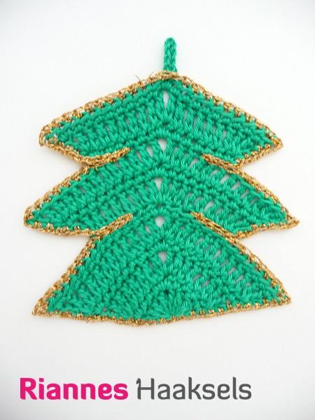 Rianneshaaksels Kerstboompje Haken