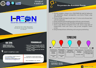 Industrial Research Competition 2018 di UAD