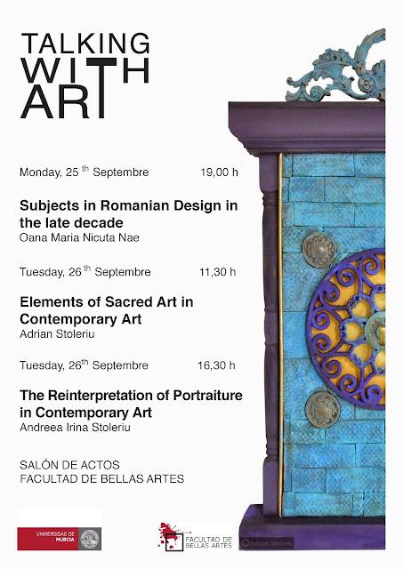 """Ciclo de conferencias """"Talking With Art"""""""