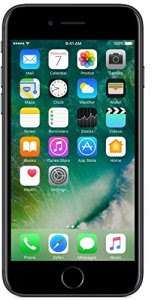 Apple iPhone 7 (Black, 32GB) At Rs.43,999.