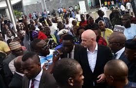 FIFA President In Nigeria