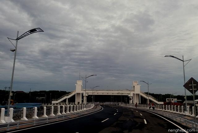 Jembatan Kenjeran Surabaya - Wisata Kota Surabaya