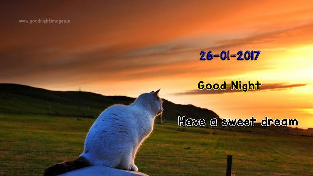 26-01-2017 Good night images