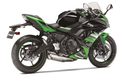 2017 Kawasaki Ninja 650 ABS KRT Edition rear look