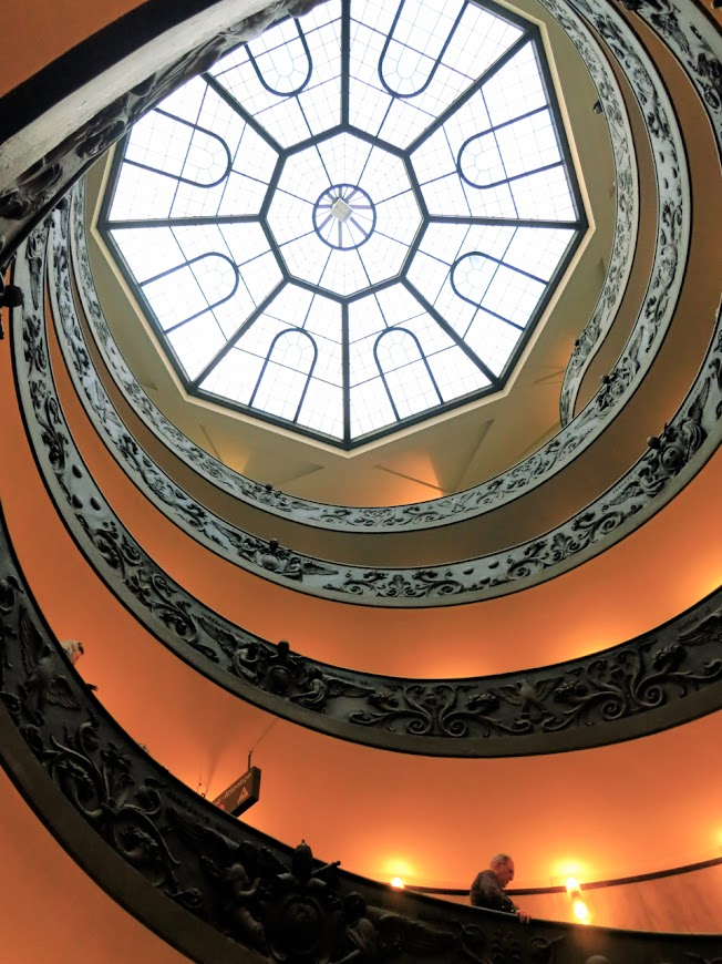 Vatican Museums Spiral Stairs