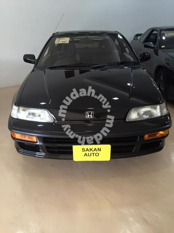 Motoring Malaysia Spotted For Sale 1990 Ef8 Honda Crx Sir