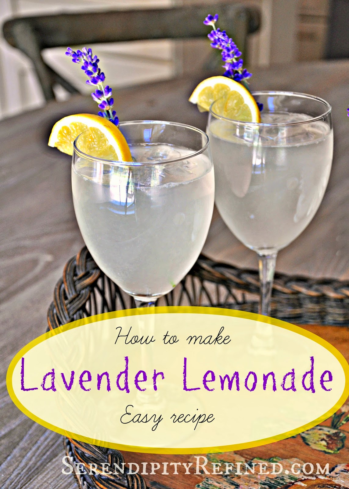 Lavender infused lemonade recipe by Serendipity Refined