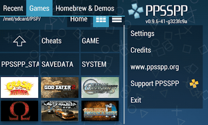 Download Emulator PPSSPP