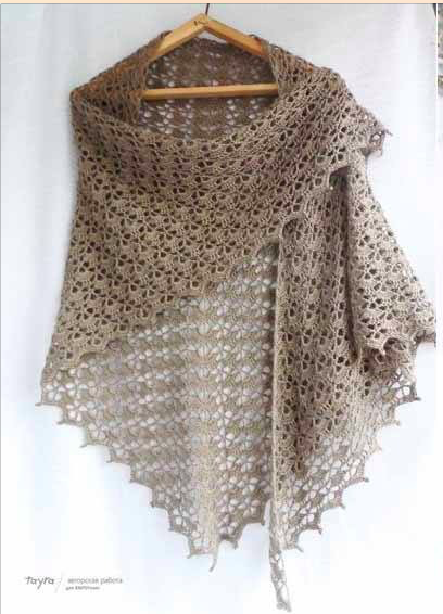 Tutorial free pattern crochet scarf Free Pattern.