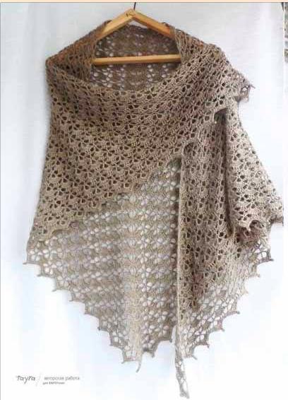 Tutorial free pattern crochet scarf Free Pattern.