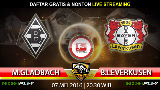 Prediksi M.Gladbach vs Leverkusen 07 Mei 2016 (Liga Jerman)