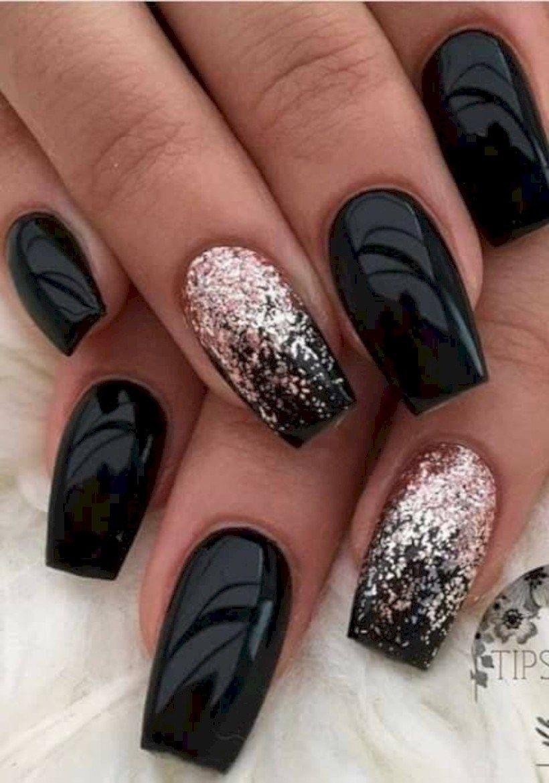 Trending Black Nails Art Manicure Ideas