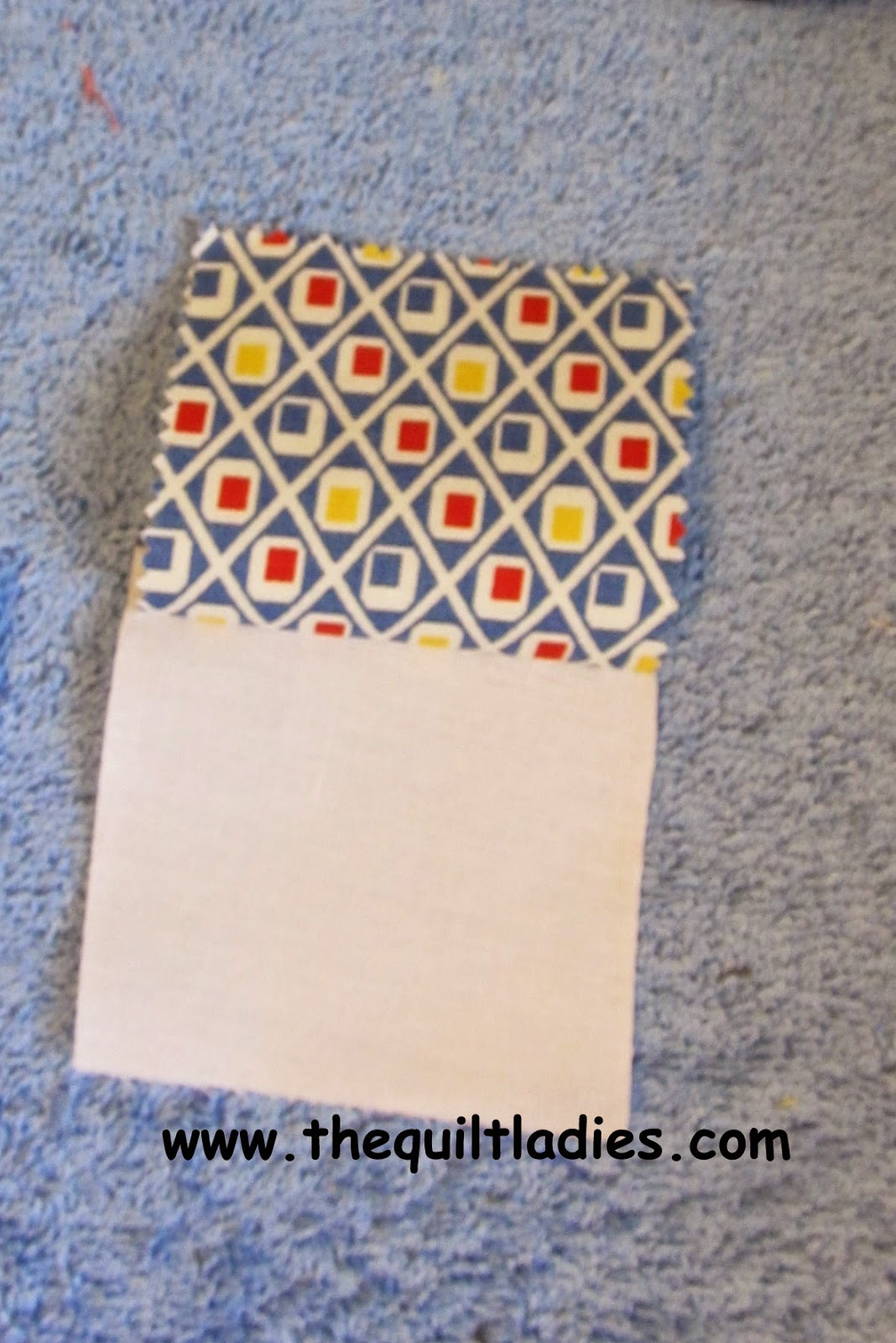 how to make a 4-Patch quilt pattern