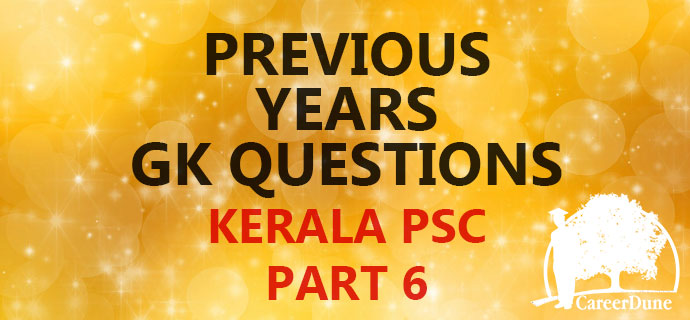 PSC Previous GK Part 6