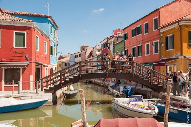 Viaje Burano Italia Turismo