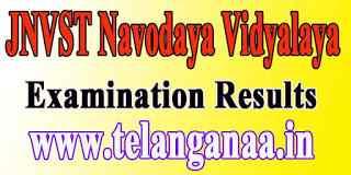 JNVST Navodaya Vidyalaya Selection Test Result