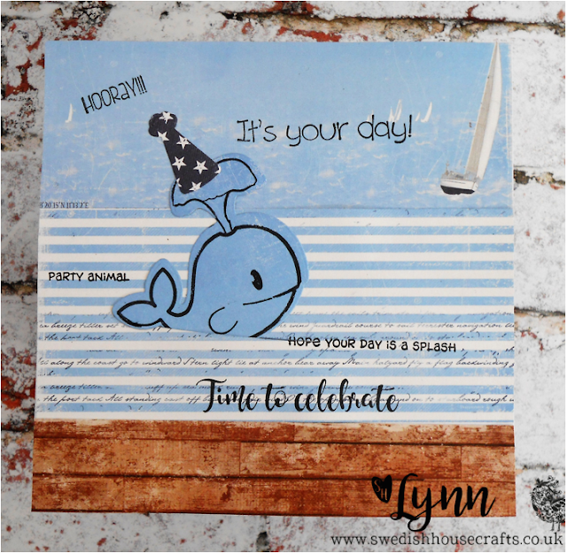 Today we are sponsoring Allsorts challenge with a Whale of a time | By Lynn