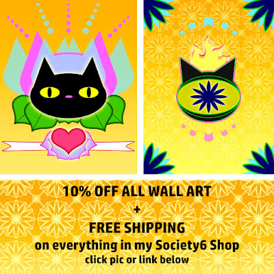 ssstephg's art samples links to her society6 sale page