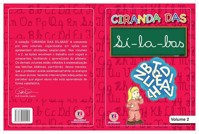 Ciranda das Sílabas Volume 2