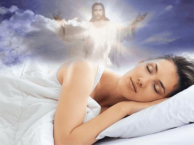 Que significa soñar con Dios