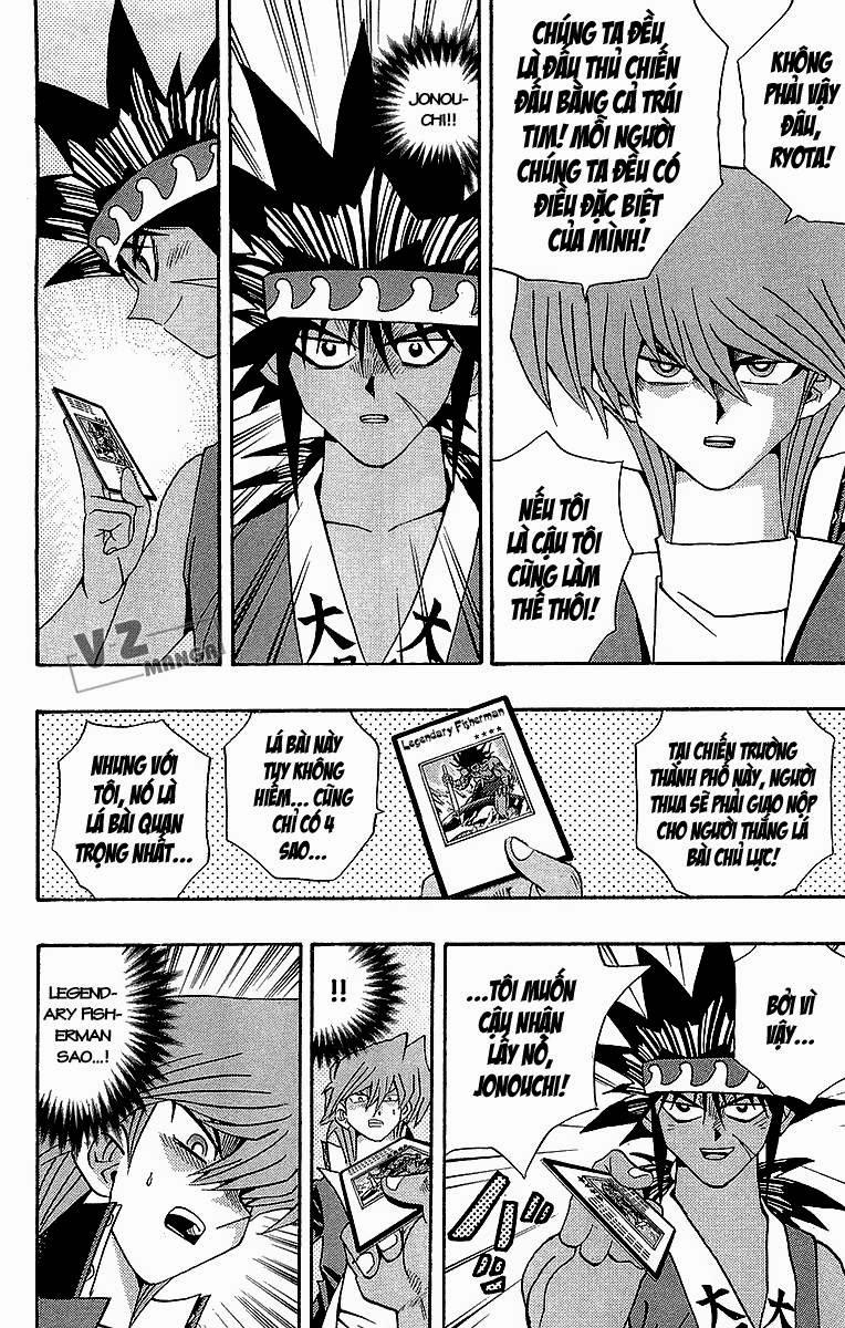 YUGI-OH! chap 183: lý do quyết đấu! trang 9