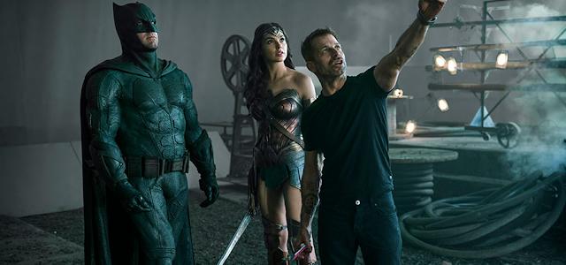 Zack Snyder responde críticas feitas a sua versão da 'Liga da Justiça'