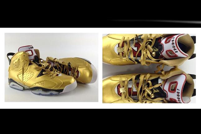 1ddcce10b59b EL CAPPY X AIR JORDAN 6 CUSTOM ~ sneakers