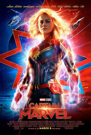 Poster Of Captain Marvel 2019 In Hindi Bluray 720P Free Download