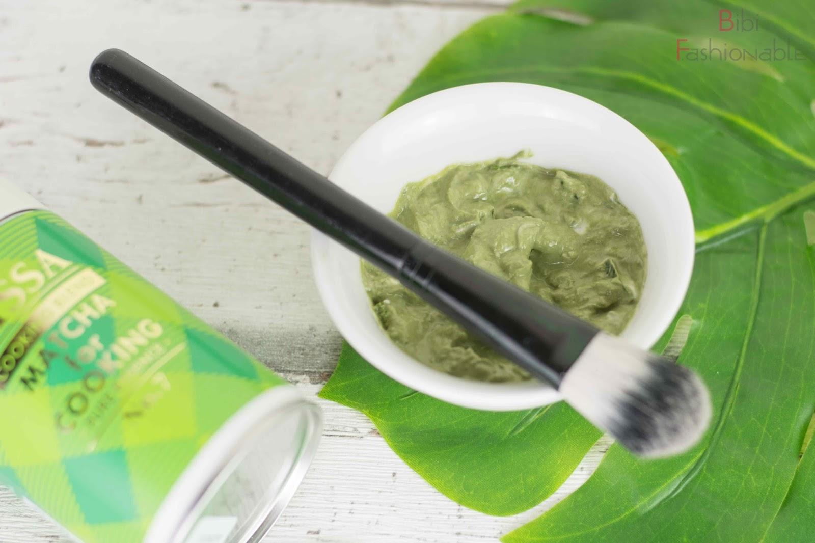 DIY Matcha Face Mask nah
