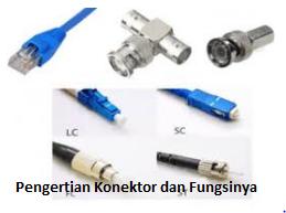 Pengertian Konektor dan Fungsi Pada Jaringan Komputer