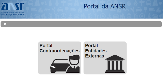 Portal de Contraordenações Rodoviárias