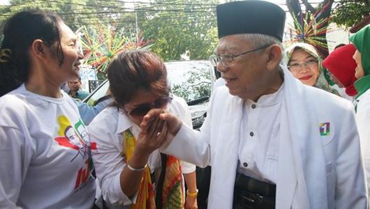 Target Suara 60 Persen, Ma'ruf Amin Intensifkan Serangan di Banten