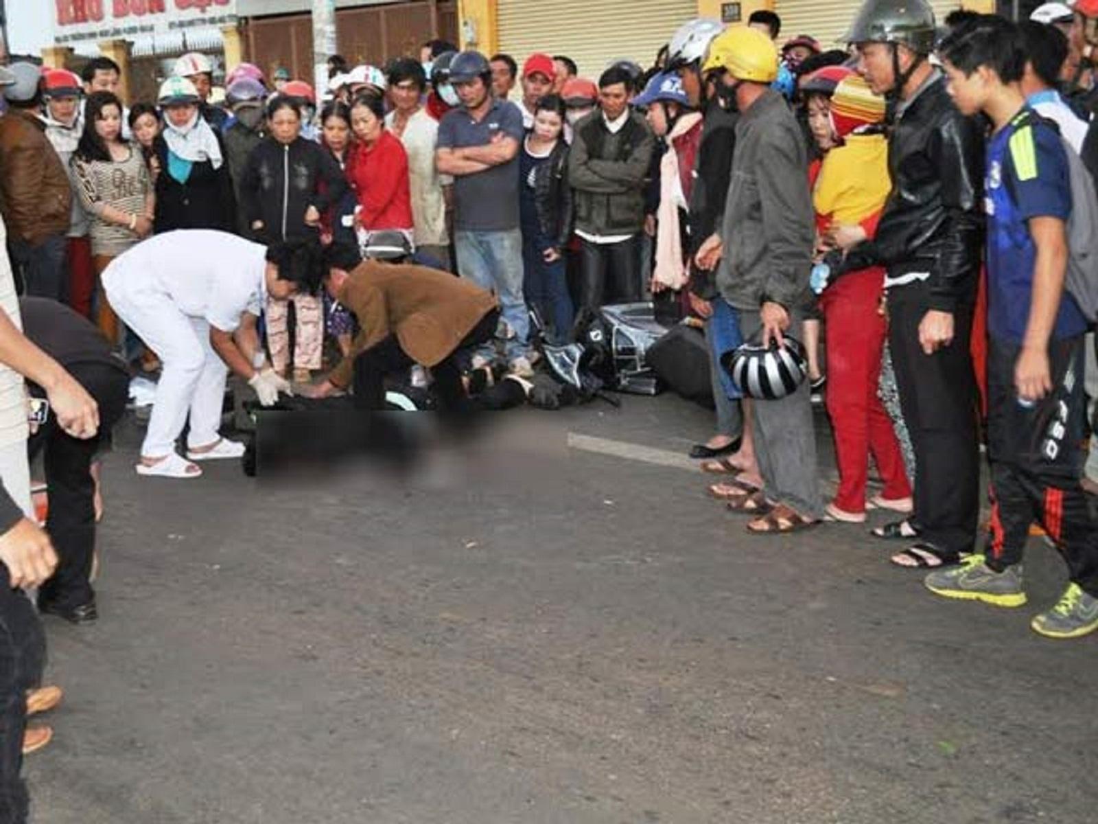 Gia Lai: Tai nạn giao thông, một thượng úy tử vong tại chỗ