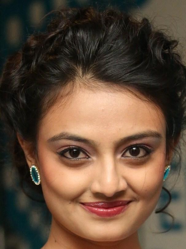 Tollywood Actress Nikitha Narayan Beautiful Smiling Close Up Face Stills