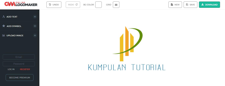 Membuat Desain Logo Online Keren Gratis dan Cepat