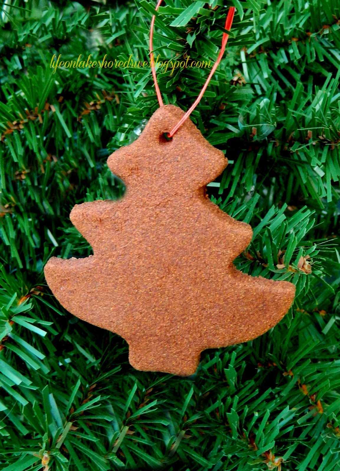 Christmas Ornament Cinnamon Applesauce Recipe