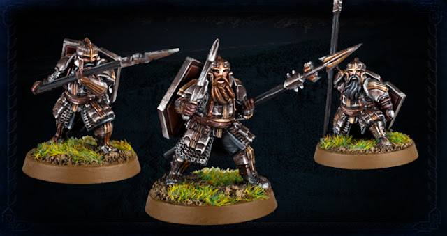 Forge World The Hobbit Battle Of The Five Armies Iron Hill Dwarf Spearmen