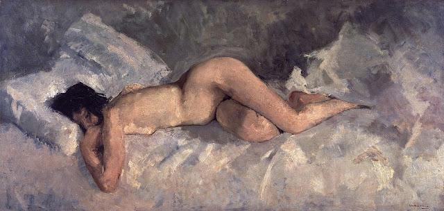 George Hendrik Breitner: Nudo disteso