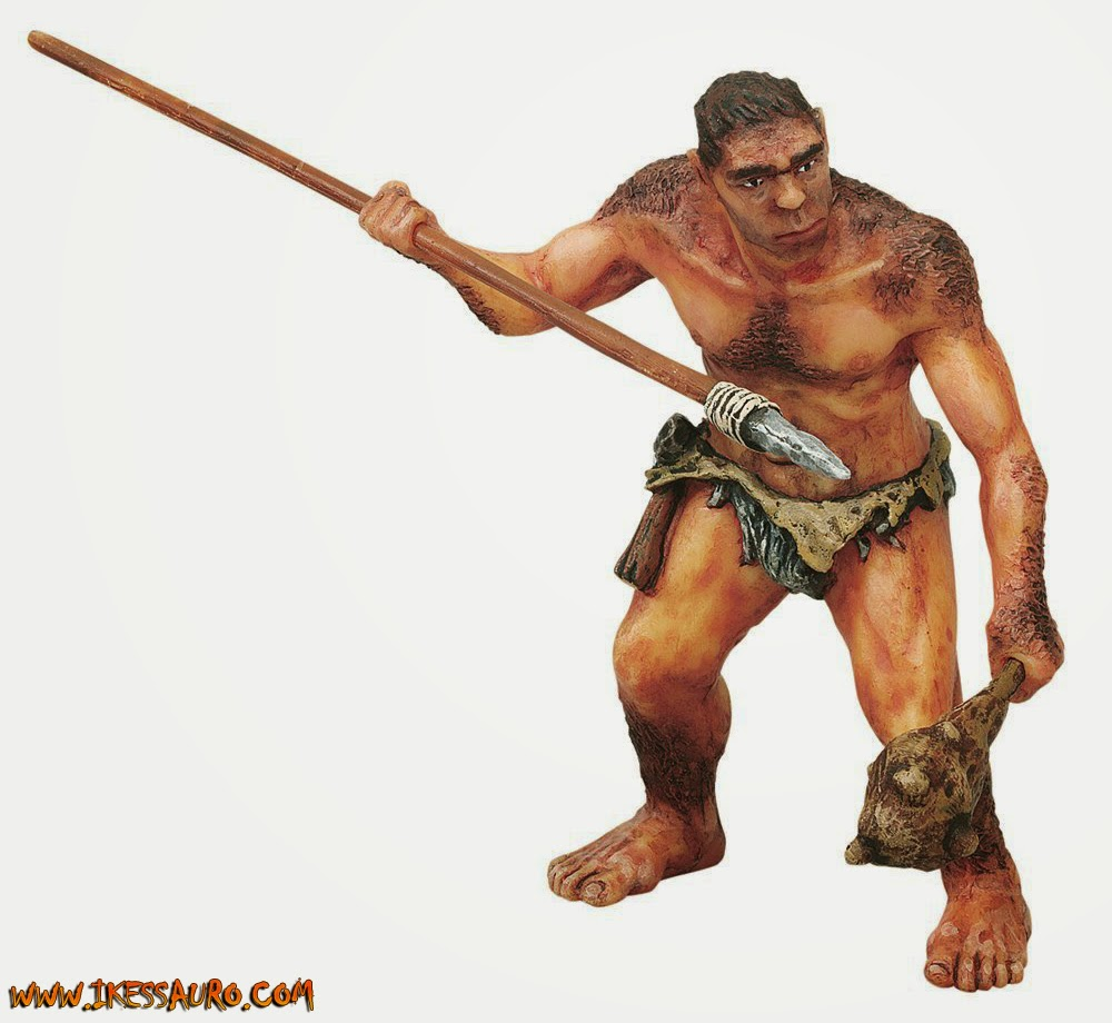 Papo Caveman with spear