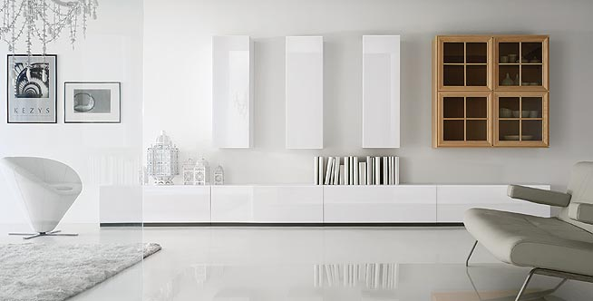 Tola falegnameria stile moderno for Arredo interni moderno