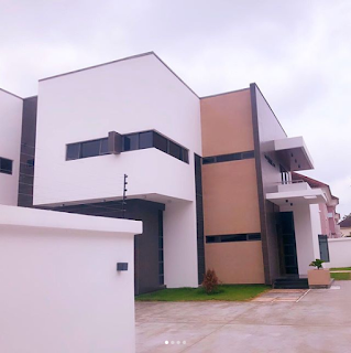 Footballer Martins' Newly acquired mansion in Lagos