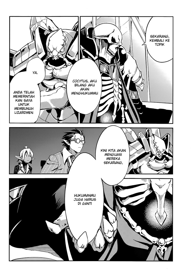 Manga Overlord chapter 23 Bahasa Indonesia