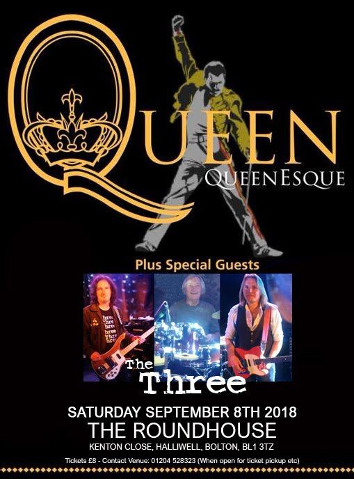 The Three supporting Queenesque