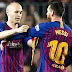 Lionel Messi named as first of four Barcelona captains and succeeds Andres Iniesta