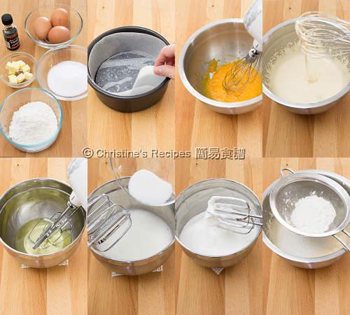 Sponge Cake Procedures01