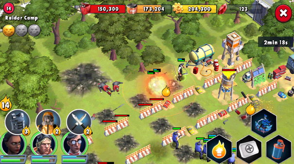 The gameplay of Zombie Anarchy